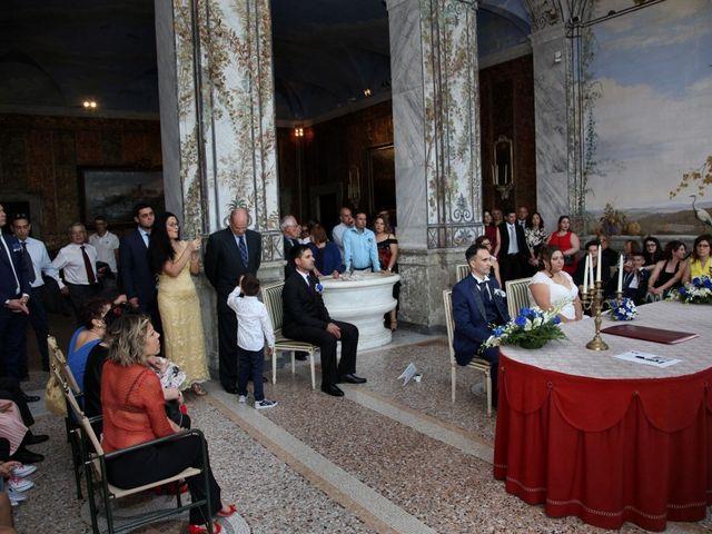 Il matrimonio di Emiliano e Francesca a Ariccia, Roma 16