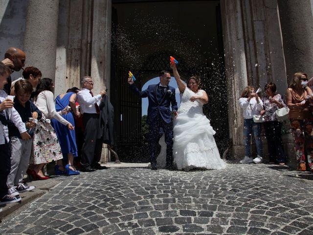 Il matrimonio di Emiliano e Francesca a Ariccia, Roma 2