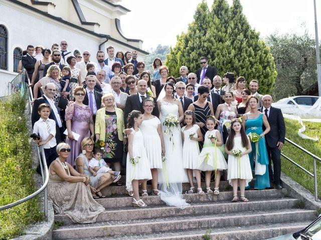 Il matrimonio di Cinzia e Vincenzo a Salò, Brescia 57