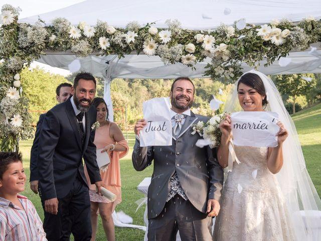 le nozze di Manuela e Mauro