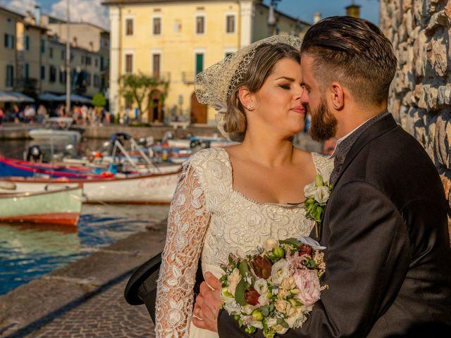 Il matrimonio di Abramo e Stefania a Peschiera del Garda, Verona 15