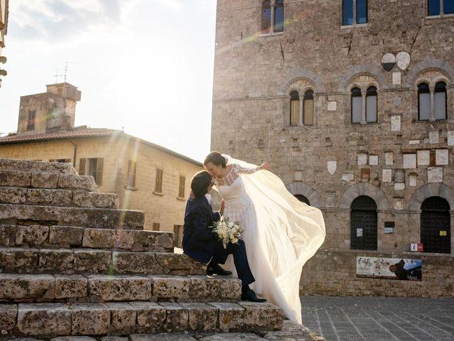 Il matrimonio di Francesca e Claudio a Massa Marittima, Grosseto 35
