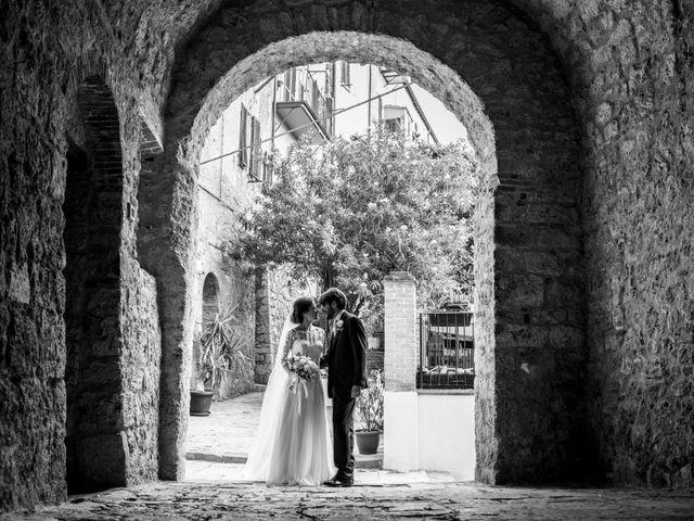 Il matrimonio di Francesca e Claudio a Massa Marittima, Grosseto 44