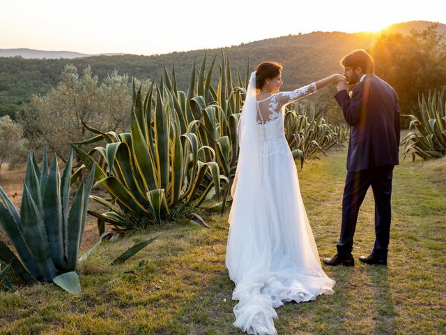 Il matrimonio di Francesca e Claudio a Massa Marittima, Grosseto 53
