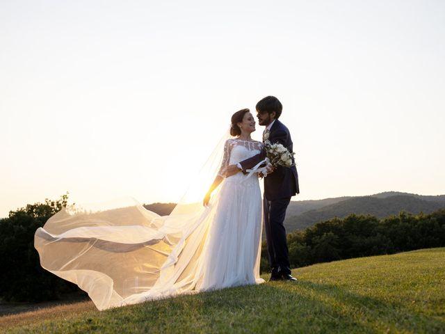 Il matrimonio di Francesca e Claudio a Massa Marittima, Grosseto 54