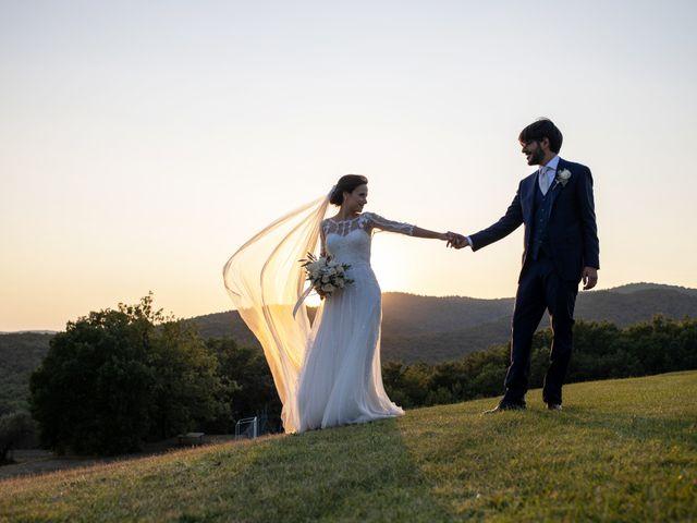 Il matrimonio di Francesca e Claudio a Massa Marittima, Grosseto 55