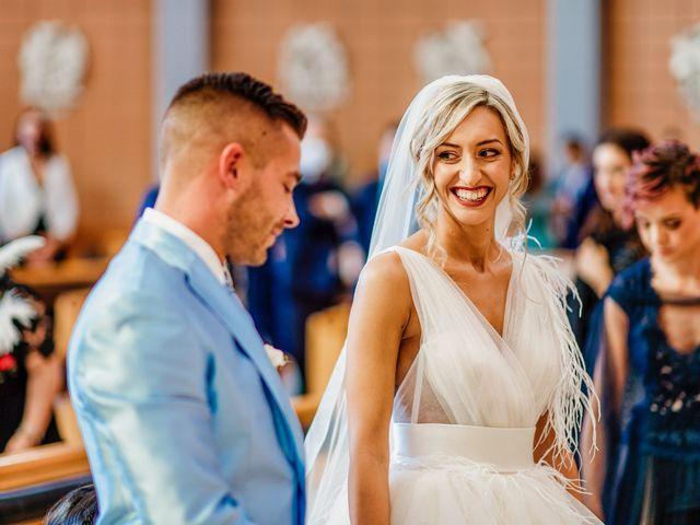 Il matrimonio di Simone e Martina a Montegranaro, Fermo 40
