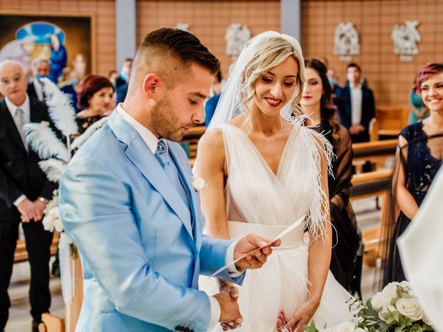 Il matrimonio di Simone e Martina a Montegranaro, Fermo 43