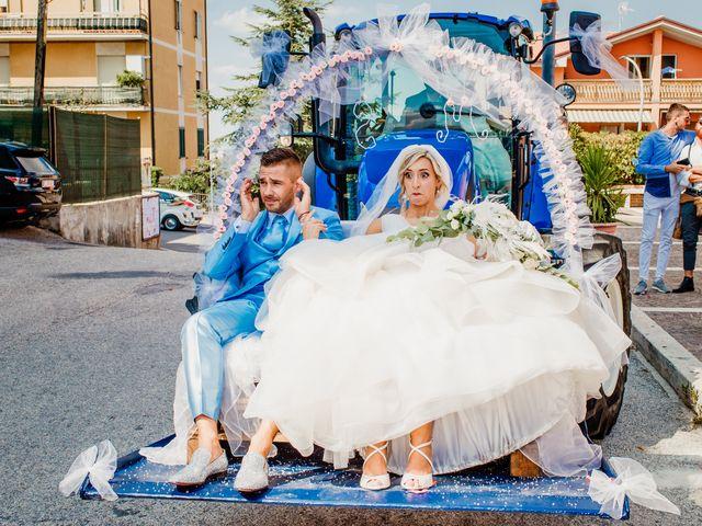 Il matrimonio di Simone e Martina a Montegranaro, Fermo 54