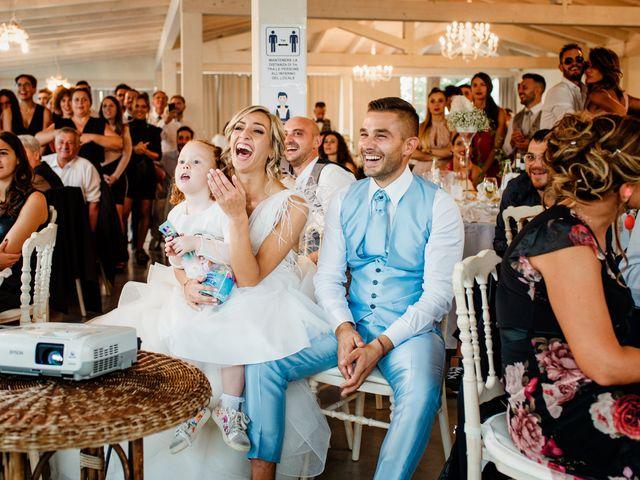 Il matrimonio di Simone e Martina a Montegranaro, Fermo 96