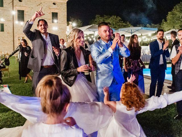 Il matrimonio di Simone e Martina a Montegranaro, Fermo 103