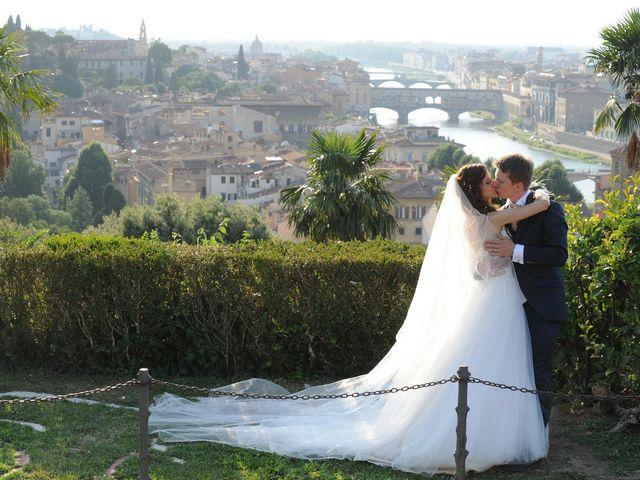 Il matrimonio di Vladislav e Elisa a Firenze, Firenze 11