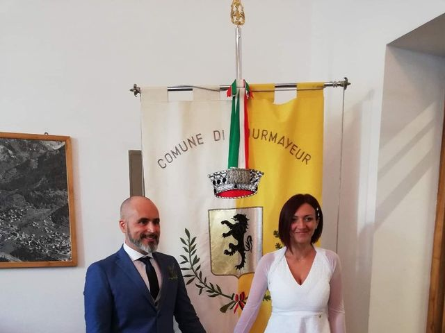 Il matrimonio di Stefano  e Romina a Courmayeur, Aosta 1