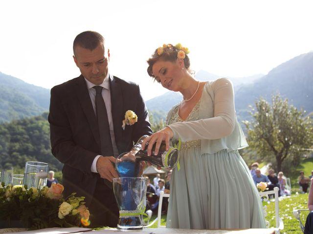 Il matrimonio di Mirco e Ambra a Pisogne, Brescia 13