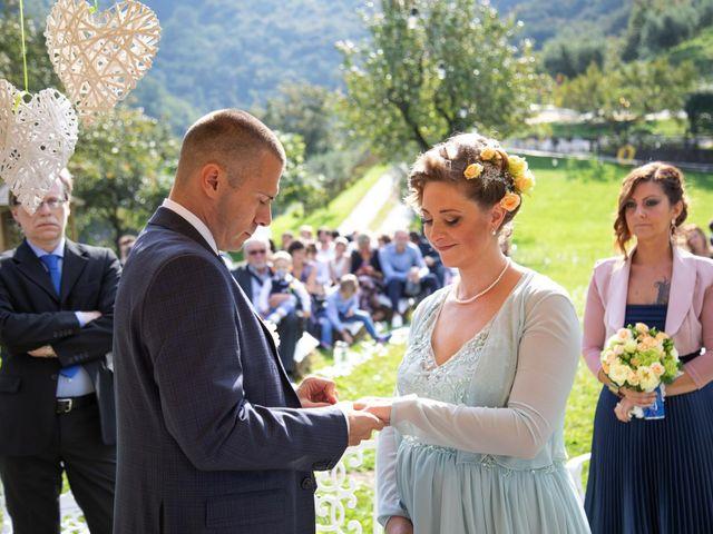 Il matrimonio di Mirco e Ambra a Pisogne, Brescia 17