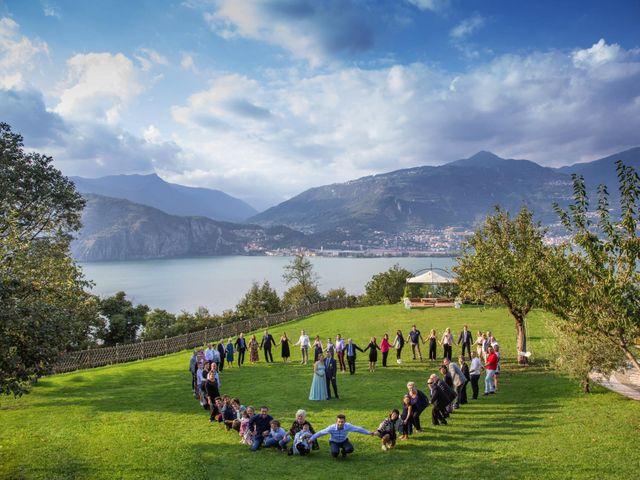 Il matrimonio di Mirco e Ambra a Pisogne, Brescia 31
