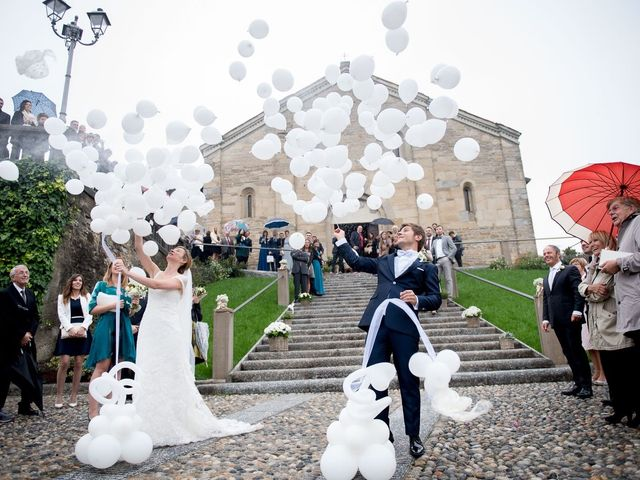 Il matrimonio di Damiano e Giulia a Villa d'Adda, Bergamo 14