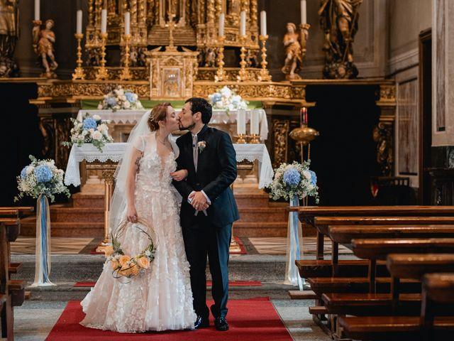 Il matrimonio di Lorenzo e Chiara a Antrona Schieranco, Verbania 34