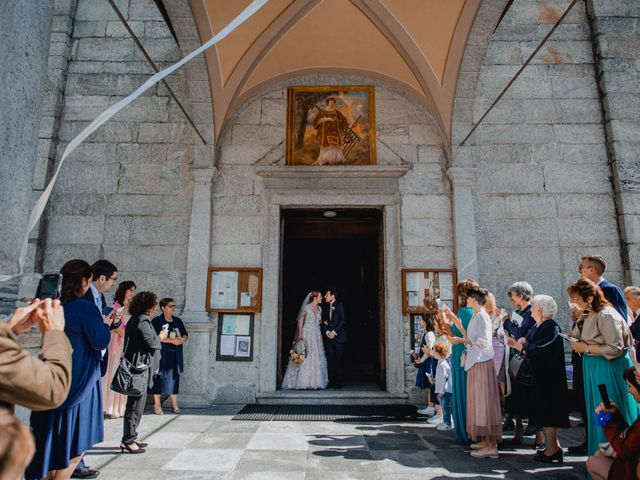 Il matrimonio di Lorenzo e Chiara a Antrona Schieranco, Verbania 35