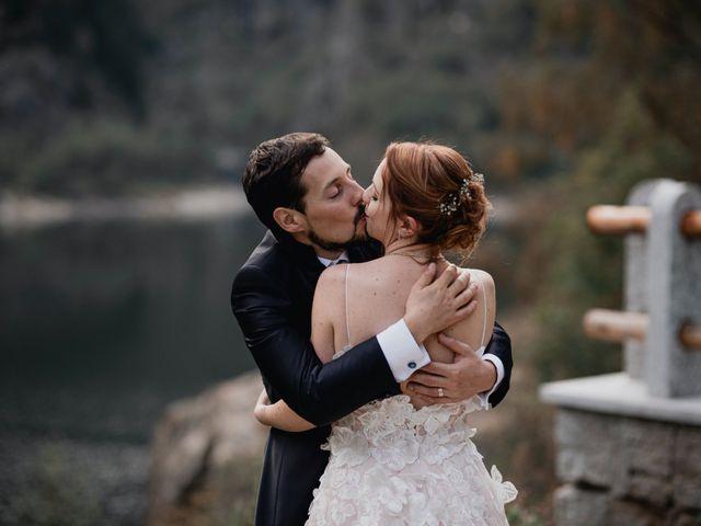 Il matrimonio di Lorenzo e Chiara a Antrona Schieranco, Verbania 57