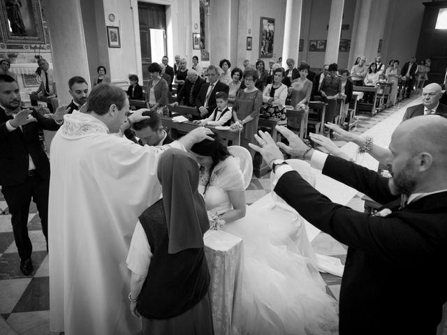 Il matrimonio di Alessandro e Elena a Santa Giustina in Colle, Padova 16
