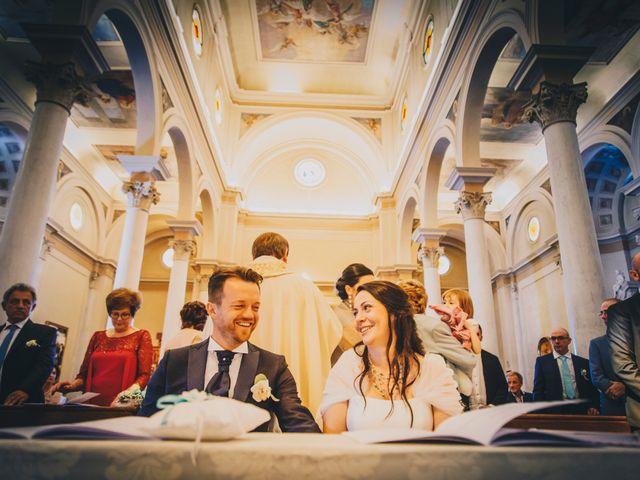 Il matrimonio di Alessandro e Elena a Santa Giustina in Colle, Padova 1