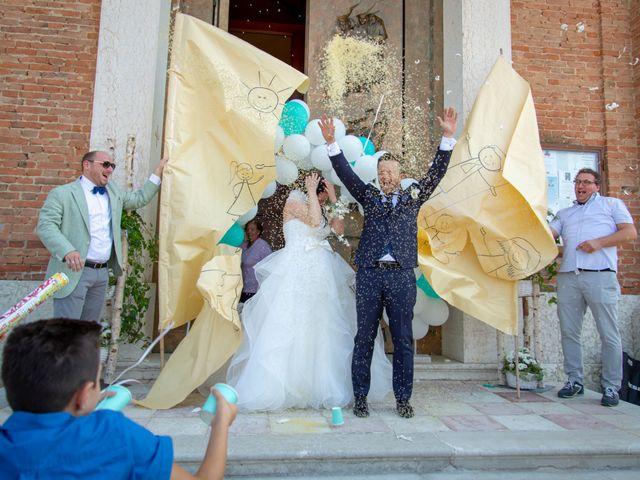 Il matrimonio di Alessandro e Elena a Santa Giustina in Colle, Padova 20