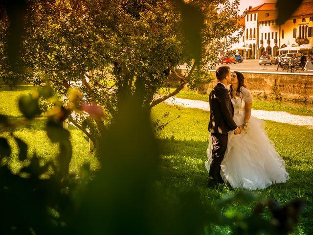 Il matrimonio di Alessandro e Elena a Santa Giustina in Colle, Padova 24