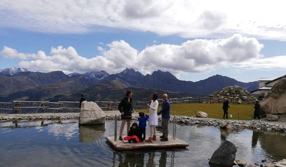 Il matrimonio di Stefano  e Romina a Courmayeur, Aosta