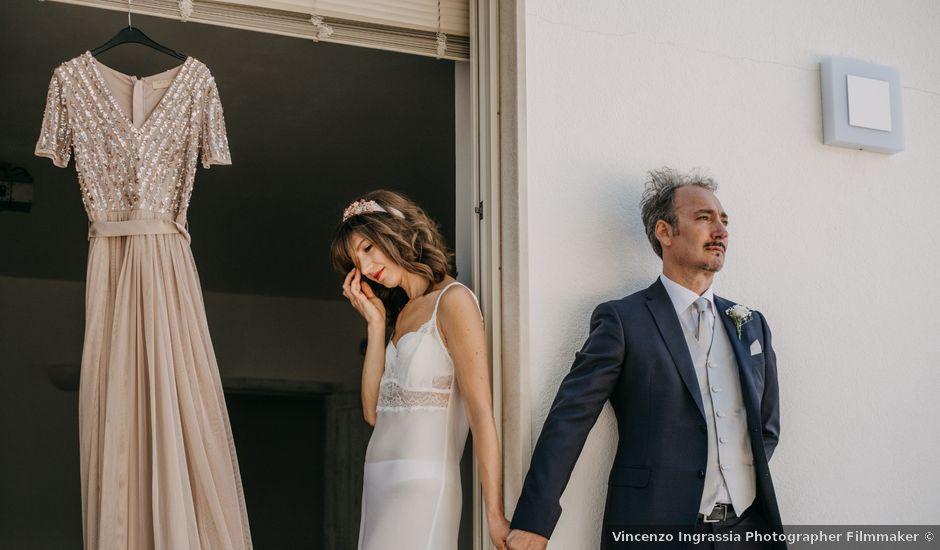 Il matrimonio di Alessandro e Angela a Nicosia, Enna