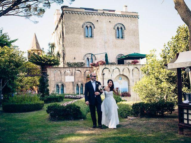 Matrimonio In Villa Cimbrone : Reportage di nozze sahar max villa cimbrone