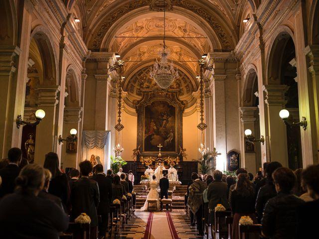 Il matrimonio di Simone e Clara a Mortara, Pavia 15