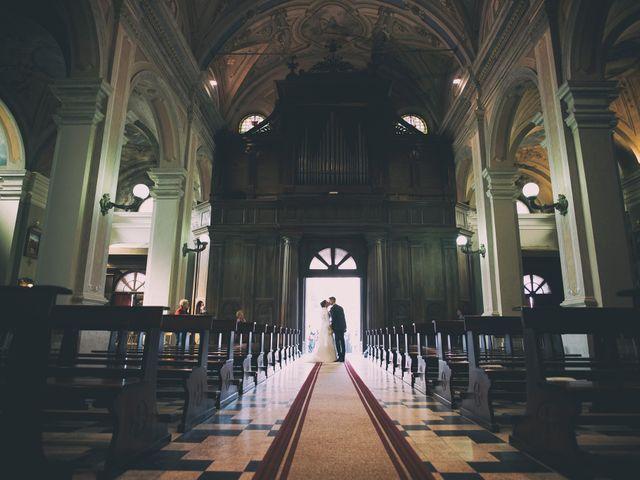 Il matrimonio di Simone e Clara a Mortara, Pavia 17