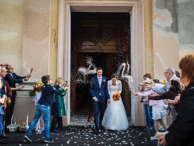 Il matrimonio di Simone e Clara a Mortara, Pavia 18