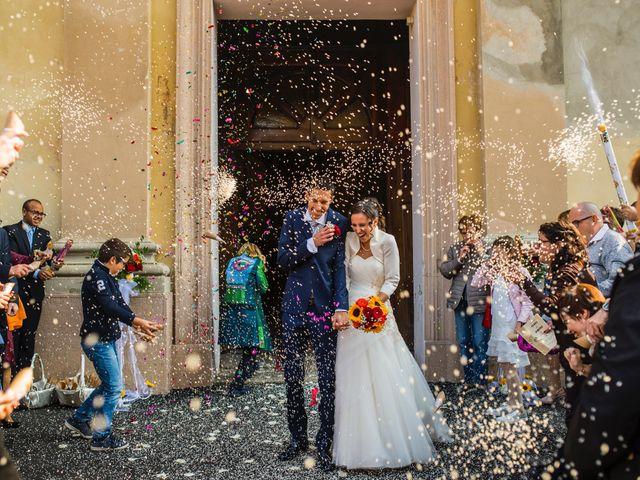 Il matrimonio di Simone e Clara a Mortara, Pavia 19