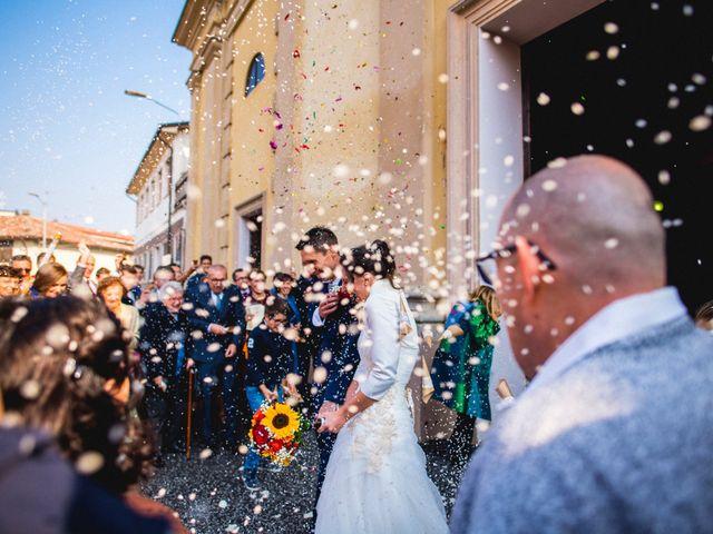 Il matrimonio di Simone e Clara a Mortara, Pavia 20