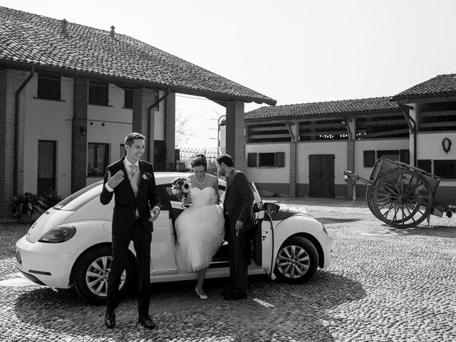 Il matrimonio di Simone e Clara a Mortara, Pavia 26