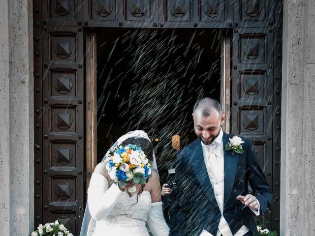 Il matrimonio di Alessandro e Laura a Grottaferrata, Roma 45