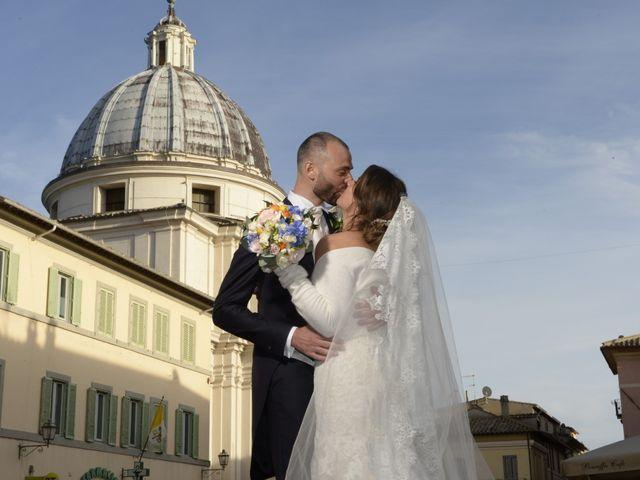 Il matrimonio di Alessandro e Laura a Grottaferrata, Roma 1