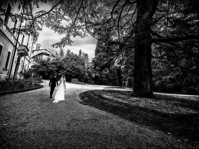 Il matrimonio di Nicola e Letizia a Trescore Balneario, Bergamo 52