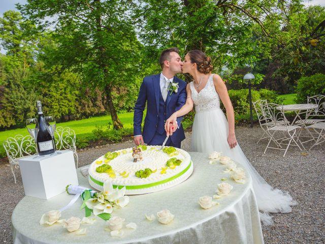 Il matrimonio di Nicola e Letizia a Trescore Balneario, Bergamo 88