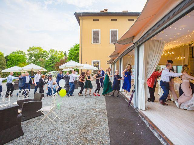 Il matrimonio di Nicola e Letizia a Trescore Balneario, Bergamo 110