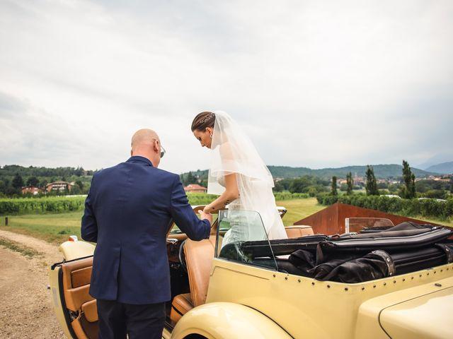 Il matrimonio di Simone e Sarah a Buttigliera Alta, Torino 25