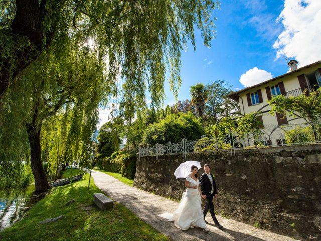Il matrimonio di Luca e Alessia a Verbania, Verbania 22