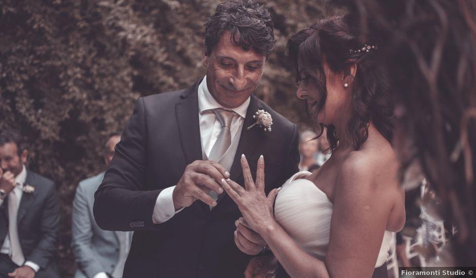 Il matrimonio di Fabio e Sabrina a Santa Marinella, Roma