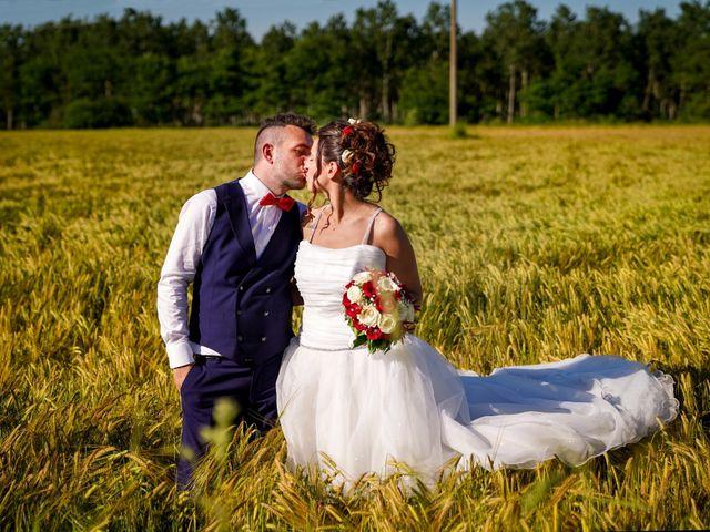 Le nozze di Jessica e Michael