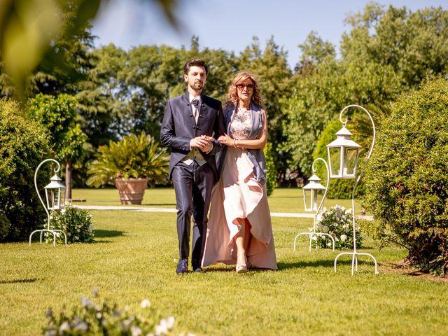 Il matrimonio di Giulio e Marta a Rovato, Brescia 19