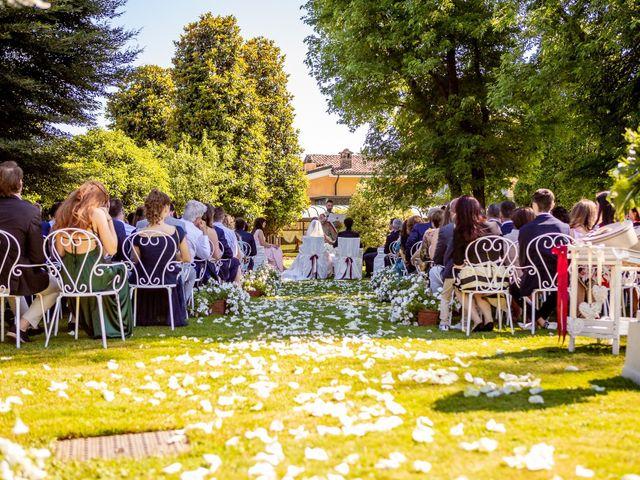 Il matrimonio di Giulio e Marta a Rovato, Brescia 21