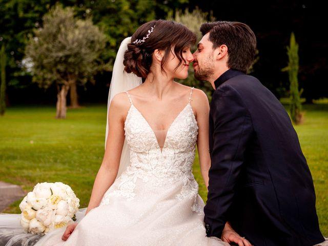Il matrimonio di Giulio e Marta a Rovato, Brescia 31