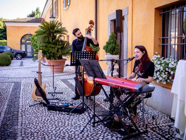 Il matrimonio di Giulio e Marta a Rovato, Brescia 35